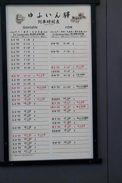 大分 駅 時刻 表